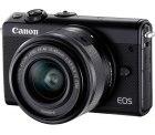 CANON EOS M100 Kit Systemkamera 24.2 Megapixel mit Objektiv 15-45 mm für 249 € (311,99 € Idealo) @Media-Markt