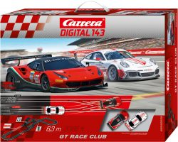 Carrera Digital 143 GT Race Club Rennbahn für 70,19 € (89,95 € Idealo) @Spiele Max
