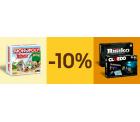 Ebay: 10% Rabatt auf Gesellschaftsspiele mit Gutschein ohne MBW