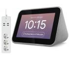 Lenovo Smart Clock mit Google Assistant + Nedis WLAN Smart Steckdosenleiste für 47,24 € (104,98 € Idealo) @Notebooksbilliger