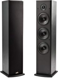 Polk Audio T50 HiFi Standlautsprecher Paar für 198 € (258 € Idealo) @Amazon