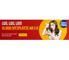 Ryanair Flash Sale: 15.000 Sitzplätze ab 5 Euro quer durch Europa fliegen