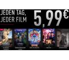 Cinemaxx: Jeder 2D Film an jedem Tag für nur 5,99 Euro in ausgewählten CinemaxX Kinos