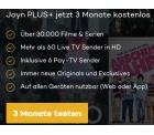Joyn PLUS+ mit über 30.000 Filmen und Serien, Live TV und Pay TV jetzt 3 Monate kostenlos statt 20,97 Euro