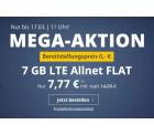 PremiumSIM Tarif mit 7GB LTE (50 Mbit/s) inkl. Allnet- & SMS-Flat für 7,77 Euro im Monat statt 14,99 Euro