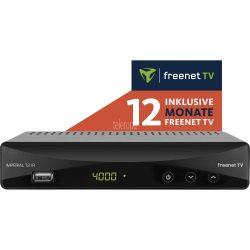 Teleropa: T2 IR DVB-T2 HD und DVB-C Receiver mit 12 Monate freenet TV für nur 49 Euro statt 109,99 Euro bei Idealo