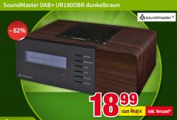 Voelkner: SoundMaster UR180DBR DAB+Radiowecker für nur 18,99 Euro statt 29,99 Euro bei Idealo