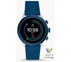 Fossil: Fossil FTW4036 Sport Smartwatch 43 mm Silikon Blau mit Gutschein für nur 84,15 Euro statt 150,49  Euro bei Idealo