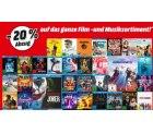 20% Rabatt auf das gesamte Musik- und Filmsortiment @Media-Markt