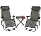Abbey Terrassenset (2 Stühle + 1 Tisch) für 98,90 € (155,99 € idealo) @iBOOD
