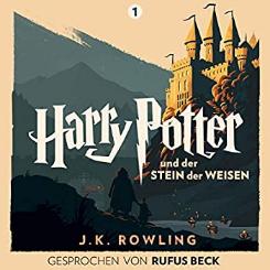Audible: Harry Potter und der Stein der Weisen (Gesprochen von Rufus Beck) Hörbuch kostenlos statt 19,97 Euro