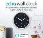 Echo Wall Clock durch Gutscheincode für 22,49 € statt 29,99 € @Amazon