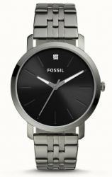 Fossil: Fossil BQ2419 Herrenuhr Lux Luther Edelstahl Grau für nur 47 Euro statt 89 Euro bei Idealo