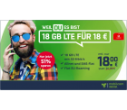 mobilcom-debitel: green LTE mit 18GB LTE (50 Mbit/s) + Allnet- & SMS-Flat für nur 18 Euro statt 39,99 Euro im Monat