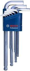 Amazon: Bosch Professional 1600A01TH5 Innen-Sechskantschlüssel Set HEX 9tlg. für nur 15,99 Euro statt 28,70 Euro bei Idealo