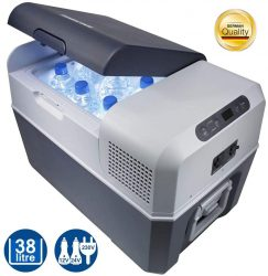 Amazon: Mobicool FR40 elektrische Kompressor-Kühlbox mit 38 Liter Fassungsvermögen 12/24 V und 230 V für nur 258,81 Euro statt 345,99 Euro bei Idealo
