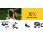 Ebay: 10% Rabatt auf Heimwerken, Werkzeuge, Garten und Terrasse mit Gutschein ohne MBW
