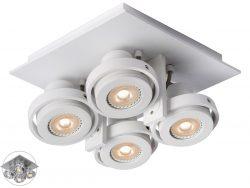 Lucide Landa II LED-Deckenstrahler 4x 5 W in Weiß oder Aluminium für 105,90 € (195,64 € Idealo) @iBOOD
