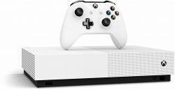 Saturn: MICROSOFT Xbox One S 1TB – All Digital Edition mit 3 Spielen für nur 129,99 Euro statt 213,99 Euro bei Idealo