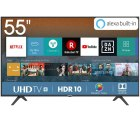 Amazon: Hisense H55BE7000 138 cm (55 Zoll) 4K Ultra HD, HDR, Triple Tuner, Smart TV für nur 314,99 Euro statt 399,40 Euro bei Idealo