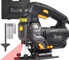 Amazon: TECCPO 800W Elektro Stichsäge mit Laser mit Gutschein für nur 32,50 Euro statt 54,99 Euro