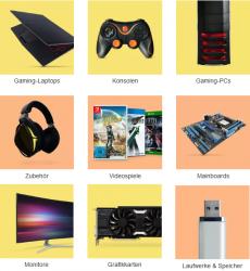Ebay: 10% Rabatt auf auf alle Gaming-Artikel auf der Aktionsseite mit Gutschein ohne MBW