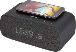 Amazon: MEDION P66107 Radiowecker Bluetooth Weckstation mit kabellosen Qi-Ladepad für nur 29,07 Euro statt 37,06 Euro bei Idealo