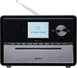 Amazon: MEDION S64007 DAB+, CD-Player, MP3, Spotify Connect, Amazon Music, Bluetooth, WLAN Kompaktanlage mit Amazon Alexa für nur 84 Euro statt 118,85  Euro bei Idealo
