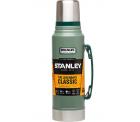 Amazon: Stanley Classic Vakuum-Thermoskanne 1,0 L Hammerschlag grün für nur 26,78 Euro statt 37,70 Euro bei Idealo