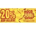 Poco: online und lokal 20% auf Alles bis 02.10.…