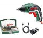 Voelkner: Bosch Home and Garden IXO V Akku-Schrauber 3.6V 1.5Ah Li-Ion inkl. 32-teiliges Bitset für nur 28 Euro statt 43,39 Euro bei Idealo
