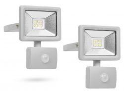 2 Stück Smartwares LED-Fluter (10 W) mit Bewegungssensor für 20,90 € (44,93 € Idealo) @iBOOD