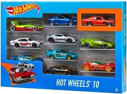 Amazon: Hot Wheels 54886 1:64 Die-Cast Auto Geschenkset 10 Autos für nur 14,99 Euro statt 21,94 Euro bei Idealo