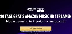 Amazon Music Unlimited HD für 3 Monate kostenlos
