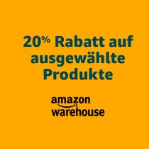 Amazon (Prime): 20% Extra-Rabatt auf Warehouse Produkte