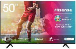 Hisense 50AE7000F 126cm (50 Zoll) 4K Ultra HD, HDR, Triple Tuner Smart-TV für 299,99 € (599 € Idealo) @Amazon