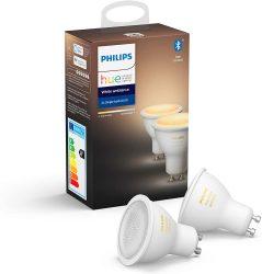 Philips Hue White Ambiance GU10 Bluetooth Doppelpack für 30,40€statt PVG Idealo 36,49€ @amazonUK