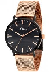Amazon: s.Oliver Damen Analog Quarz Uhr mit Edelstahl Armband SO-3668-MQ für nur 59 Euro statt 79,95 Euro bei Idealo