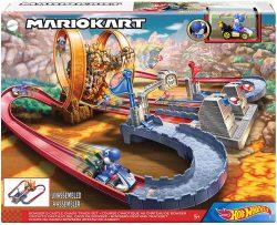 Amazon und Smythstoys: Hot Wheels GNM22 Mario Kart Bowsers Festung Trackset für nur 39,99 Euro statt 48,94 Euro bei Idealo