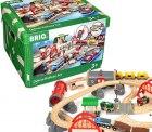 BRIO World 33052 Straßen & Schienen Bahn Set Deluxe für 129,99€statt PVG Idealo 161,76€ @amazon