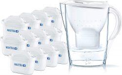BRITA Wasserfilter Marella weiß inkl. 12 MAXTRA+ Filterkartuschen für 46,99€statt PVG Idealo 58,67€ @amazon