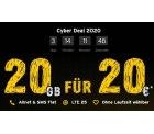 congstar Cyberdeal zum Black Friday: Allnet Flat M mit 20GB Datenflat für 20 Euro