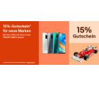Ebay: 15% Rabatt auf ausgesuchte Smartphones, Elektronikartikel, Mode, Spielzeug und mehr mit Gutschein ohne MBW