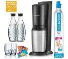 Ebay: SodaStream Crystal 2.0 Wassersprudler Promo titan, 2 x Karaffe, 1 x CO²-Zylinder für nur 89 Euro statt 107,65 Euro bei Idealo