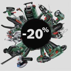 Im Bosch Black Sale 20% Rabatt auf alles mit Gutschein + versandkostenfrei