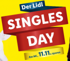 LIDL: SINGLES DAY mit täglich neuen Top-Angeboten + Gutschein für kostenlosen Versand auf alles