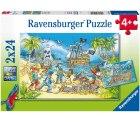Ravensburger Kinderpuzzle 05089 05089-Die Abenteuerinsel-2 x 24 Teile für 6,23€ statt PVG Idealo 9,90€ @amazon