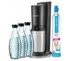 Sodastream Crystal 2.0, 3 Glaskaraffen, 1 Zylinder für 89,99 mit Neukunden-Bonus 84,99 – Idealo 85,76€