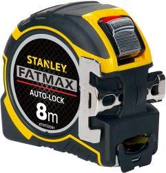 Amazon: Stanley FatMax Pro Bandmaß Autolock mit 8 m Länge für nur 21,99 Euro statt 32,58 Euro bei Idealo