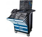 Netto: Scheppach Werkstattwagen TW1100 Inklusive 70 tlg. Werkzeugset für nur 279,99 Euro statt 369 Euro bei Idealo